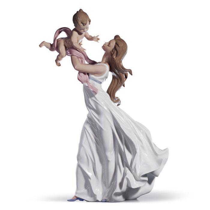 リヤドロ人形【リヤドロ】幸せの瞬間6858【結婚祝】【出産祝】【退職祝】【引越祝】【還暦祝】【記念品】