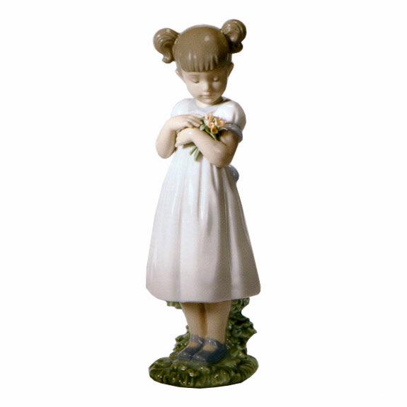 リヤドロ人形【リヤドロ】8021素敵なお花【結婚祝】【出産祝】【退職祝】【引越祝】【還暦祝】【記念品】