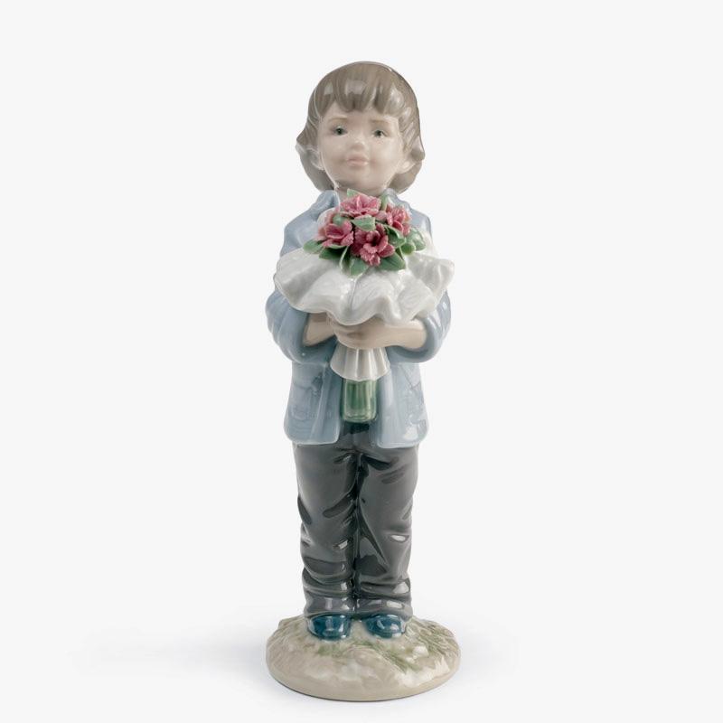 リヤドロ人形【リヤドロ】一番好きなあなたへ8504【結婚祝】【出産祝】【退職祝】【引越祝】【還暦祝】【記念品】