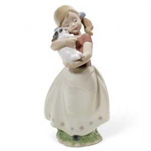 リヤドロ人形【リヤドロ】かわいい! 8531【結婚祝】【出産祝】【退職祝】【引越祝】【還暦祝】【記念品】