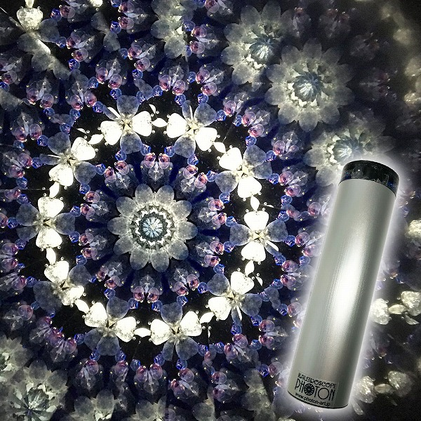 日本製『ダイヤモンド ダスト』 オイル万華鏡 サファイア ブルー diamond-blue【母の日】【父の日】【ギフト】【クリスマス】【誕生日】【お祝い】