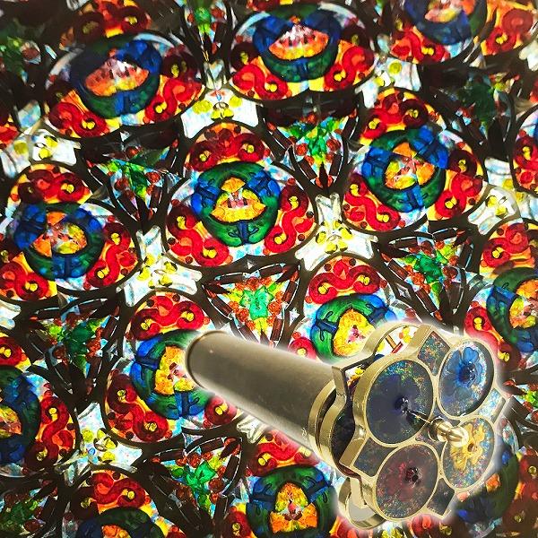 送料無料対象外 メタルの本体と目の覚めるようなキュートな色合い 万華鏡 ロイ コーエン Short 送料無料お手入れ要らず Medium Flower 誕生日 roy-sflower お祝い 母の日 父の日 ギフト クリスマス 受注生産品