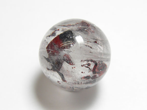 最高級!天然石一粒売、セイクリッドセブン(スーパーセブン) 貫通穴、直径 約14mm、nb7-08(石・天然石 ・パワーストーン)
