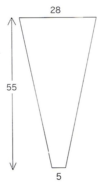 送料無料 三角パック #30-5 @2.9円×15000枚入り(flo159)| 花材 ラッピング 資材 透明 セロハン 無地 三角 袋 花屋 包装 業務用 花 OPP 花袋 花束用 スーパー 仏花 フィルム 生花