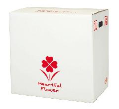 スーパーSALE10%OFF対象 宅配ボックス DL-3(5~6寸(2ヶ用)) @360円×30組 花材・資材 配送ボックス