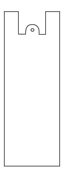 スーパーSALE10%OFF対象 花束用特長袋  特長M号-(中)  @13.0×1000枚入り