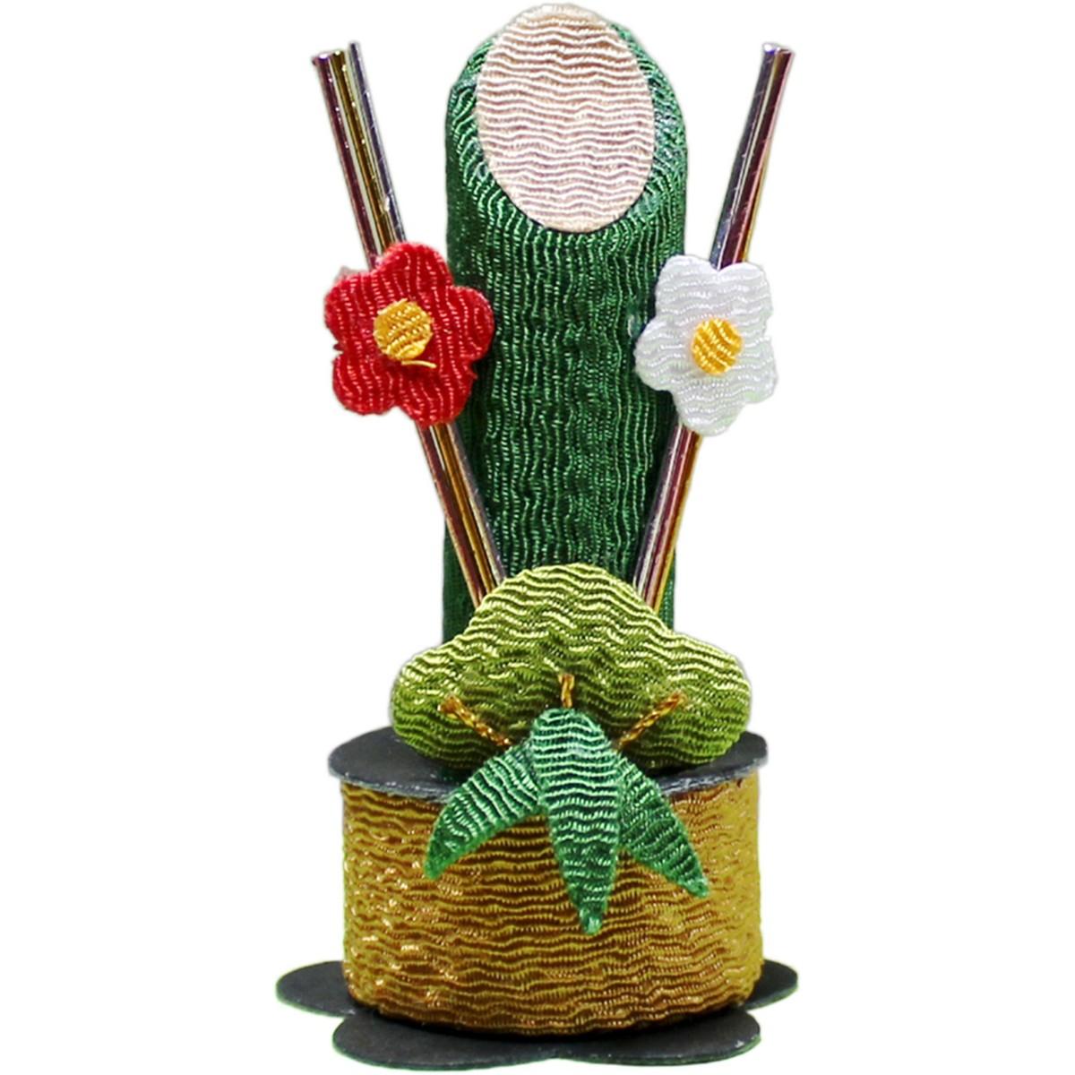 N-185 門松ピック 12コセット 《201920mass》| アレンジメント用品 フラワー グリーン 花資材 園芸 お正月 飾り ピック