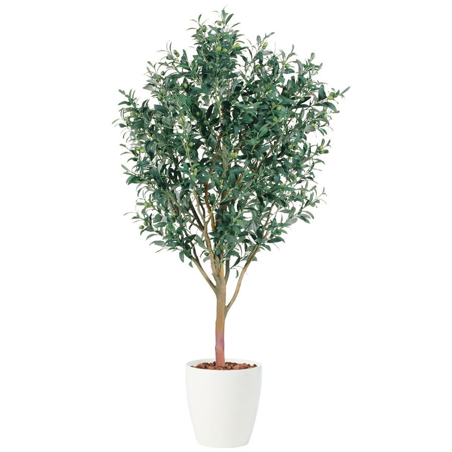 スーパーSALE10%OFF対象 人工観葉植物 ライプオリーブ 200 (器:RP-370) 91392|フェイクグリーン イミテーション インテリア オフィス 店舗 造花 おしゃれ 観葉植物 大型 観葉植物 おしゃれ 観葉植物 インテリア 《2018ds》