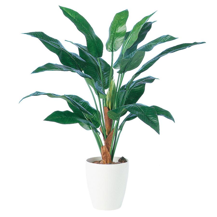 スーパーSALEセール対象 人工観葉植物 ストレリチア15 100 (器:RP-225) 91451 |フェイクグリーン イミテーション インテリア オフィス 店舗 造花 観葉植物 大型 観葉植物 おしゃれ 観葉植物 インテリア 《2018ds》
