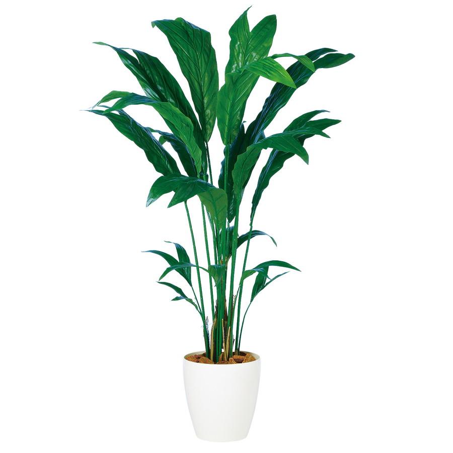 スーパーSALEセール対象 人工観葉植物 チャメドレア 160 (器:RP-300) 98878 |フェイクグリーン イミテーション インテリア オフィス 店舗 造花 観葉植物 大型 観葉植物 おしゃれ 観葉植物 インテリア 《2018ds》