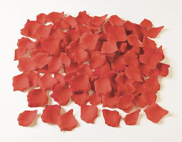 造花 アーティフィシャルフラワー ローズペタル 約100枚 パック doga セール価格 ドガ d-0022000-fle-0717_rd レッド BC付 送料無料激安祭 約100枚