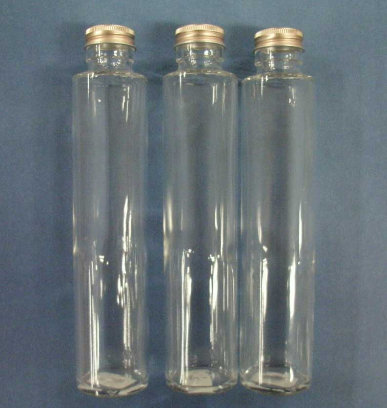 Narrow opening carafe column type (with a leek stopper) approximately 200 ml in capacity three set sss-200 for her barium