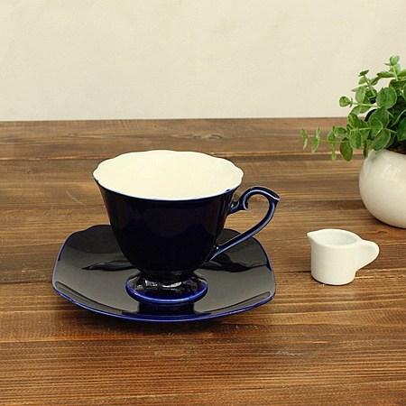 瑠璃カップ ソーサー 洋食器 カップ コーヒーカップ ティーカップ 再入荷 予約販売 碗皿 C S 日本製 業務用食器 カップ伏せ焼き カフェ食器 カフェ風 アウトレット 業務用 多治見美濃焼 送料無料激安祭