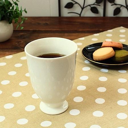 高台フリーカップ アイボリー 価格 2020 洋食器 カップ コップ 茶器 フリーカップ 訳あり アウトレット 多治見美濃焼 白い食器 業務用 業務用食器 日本製