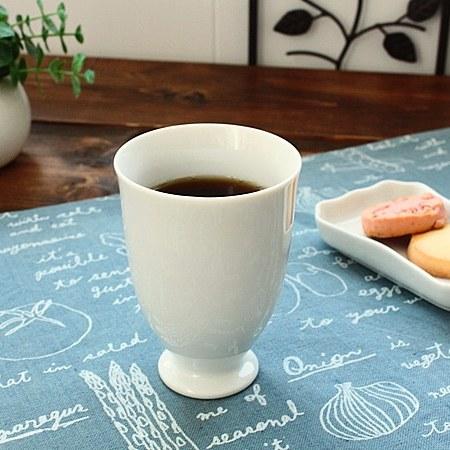 高台フリーカップ ホワイト 洋食器 カップ コップ 茶器 フリーカップ クリアランスsale 期間限定 多治見美濃焼 業務用 業務用食器 訳あり アウトレット 白い食器 超激得SALE 日本製
