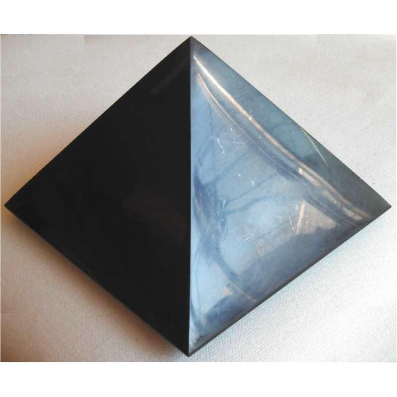 品質のいい シュンガイトのピラミッド型オブジェ 15cm[シュンガイト/浄化/フラーレン/パワーストーン/天然石/シュンガイト/シュンガ石/パワーストーン], TREFLE+1:6d031c96 --- construart30.dominiotemporario.com