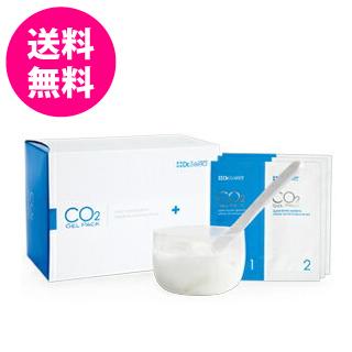 ※カップ、スパテュラ付 スキンケア 美容 CO2ジェルパック20回分 はがせる炭酸パック/ドクターセレクト 健康 (炭酸パック)洗い流し不要 送料無料