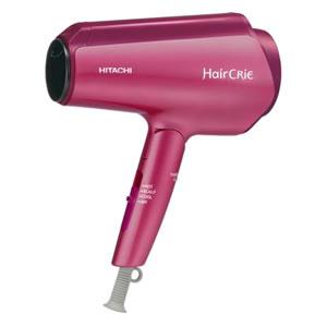 送料無料 日立 ヘアードライヤー Hair CRiE Plus ヘアクリエプラス ナノイオン ピンクトパーズ HD-NS800-P/美容家電 ヘアケア ヘアエステ イオン/a24-160322up