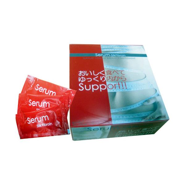 送料無料 セラム‐シルクフィブロイン10g×30包入/ダイエット食品 サプリメント 健康サポート トレーニング 美容サポート ダイエットサプリメント