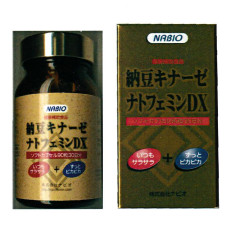 送料無料 納豆キナーゼ ナトフェミンDX/サプリメント 美容 健康維持 ヘルシーライフ 生活習慣 健康食品 納豆