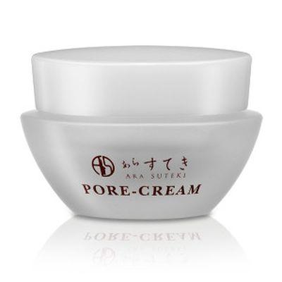 送料無料 あらすてき ぽあクリーム/化粧下地 クリーム状 メイク 皮脂対策 美容 健康 フェイスケア スキンケア
