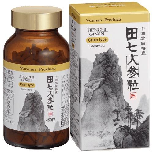 送料無料 田七人参粒/サプリメント 美容 健康維持 ヘルシーライフ 生活習慣 健康食品