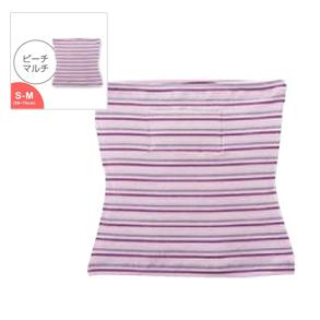 中わた入りフィット腹巻(厚手)ピーチマルチ SM/インナー 保温 冷え対策 美容 健康