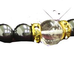 Hematite Bracelet ヘマタイトブレス 水晶 2個セット 送料無料 お歳暮 ラッキーアイテム バースデー 記念日 ギフト 贈物 お勧め 通販 開運 幸運 お守り ブレスレット 金運