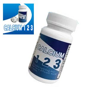 送料無料☆3個セット Calcium123 カルシウム123/サプリメント 健康補助 ヘルシーライフ 健康維持