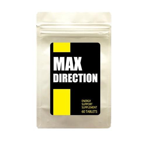 送料無料☆3個セット MAX DIRECTION マックスダイレクション/サプリメント 男性 健康 メンズサポート