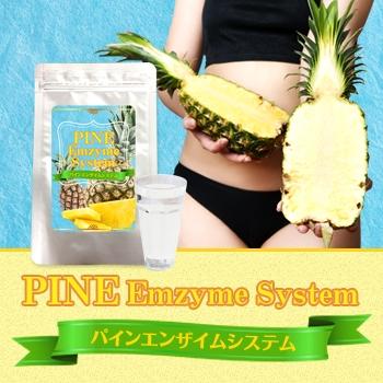 送料無料★3個セット PINE Emzyme System パインエンザイムシステム/サプリメント ダイエット 美容 健康 スリム ダイエットサポート