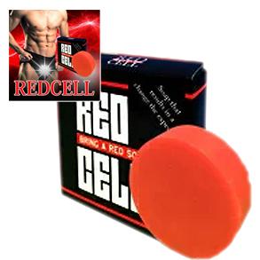健康 RED 送料無料★3個セット CELL 男性 メンズボディソープ メンズサポート レッドセル/メンズ石鹸