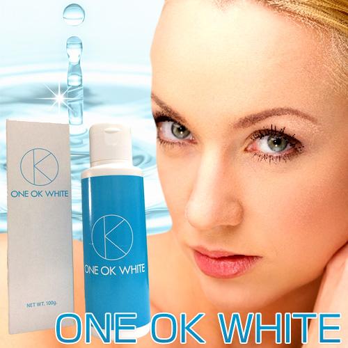 送料無料☆3個セット ONE OK WHITE ワンオクホワイト/ジェル 美容 健康 スキンケア 肌対策 フェイスケア