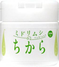 ミドリムシのちから 100粒入り ユーグレナ送料無料 サプリメント 美容 健康  みどりむし ミドリムシ 乳酸菌 コエンザイムQ10