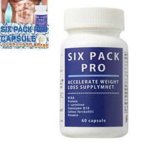 送料無料☆3個セット シックスパックプロ SIX PACK PRO/サプリメント 男性 健康 メンズサポート