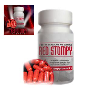 送料無料☆3個セット RED STOMPY レッドストンピィ/サプリメント 男性 健康 メンズサポート