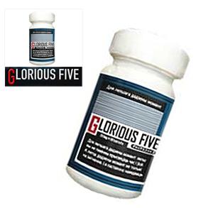 送料無料★3個セット♪GLORIOUS FIVE グロリアスファイブ/サプリメント 男性 健康 メンズサポート