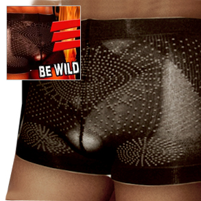 5個セット+1個プレゼント!☆送料無料 BE-WILD ビーワイルド/ボクサーパンツ 締め付け メンズ 男性 健康 下着