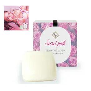 送料無料☆3個セット Secret Pink シークレットピンク/石けん石鹸 美容 健康 におい対策 黒ずみ対策