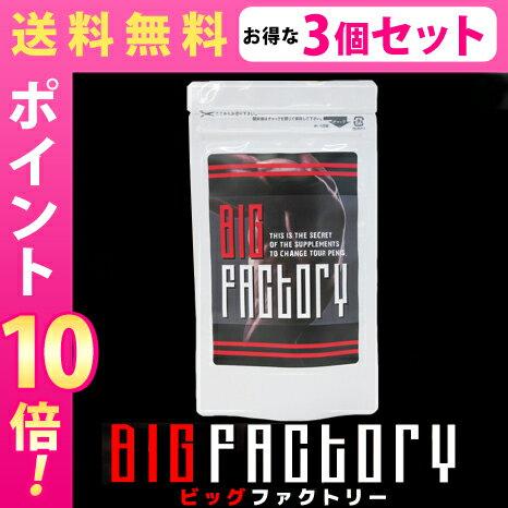 送料無料★3個セット BIG FACTORY ビッグファクトリー/サプリメント 男性 健康 メンズサポート