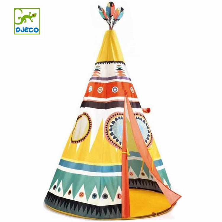 2020公式店舗 ジェコ DJECO ティーピーテント 室内用 秘密基地 円錐型テント インディアンテント 知育 おもちゃ プレゼント 誕生日 クリスマス 正規品 ギフト プレゼント 送料無料, おばあちゃんの梅干し d3b9df2a
