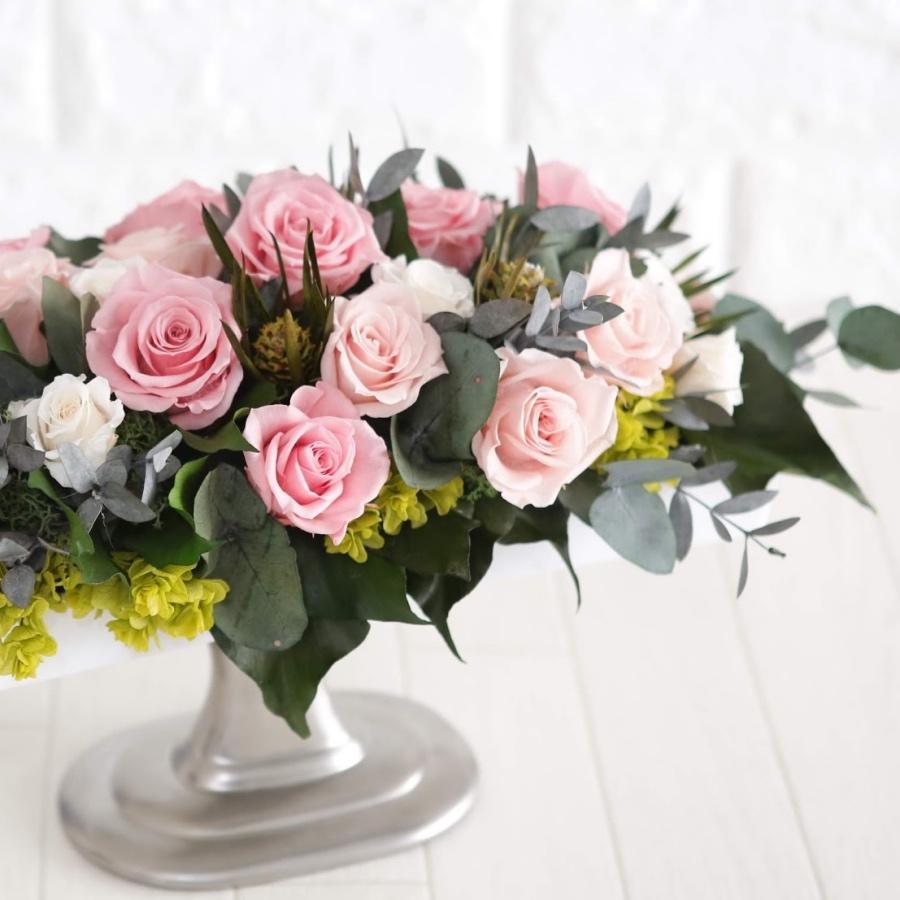 【あす楽対象】 プリザーブドフラワー バラ お祝い 開店 開業 事務所 移転 結婚 パーティー 二次会 結婚式 テーブル装花 バラ 誕生日 結婚祝い 敬老の日 送料無料 バラ 豪華 ジュリエット