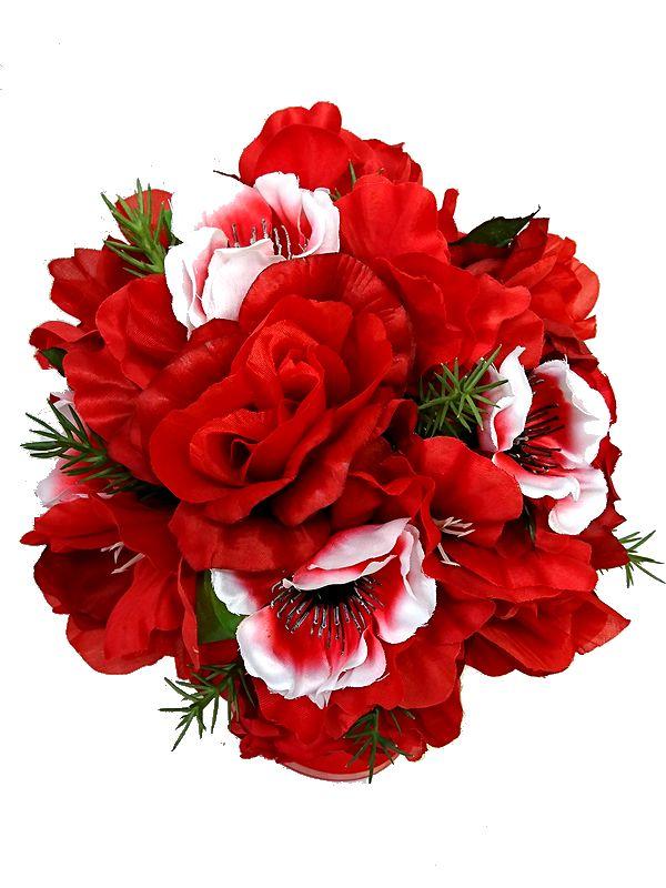 ブートニアも無料でお付けいたします 造花で作るウェディングブーケ 永遠に思い出を残しませんか ウェディングブーケ レッド235 結婚式 ウェディング トスブーケ ブライダル 二次会 ブーケ 日時指定 新入荷 流行 ブートニア