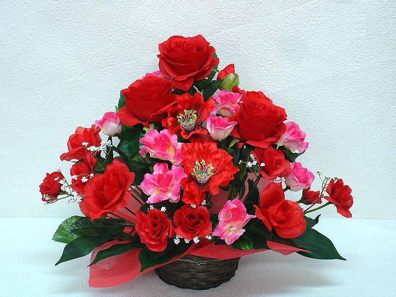 安値 でました 造花でこんなに豪華なアレンジメント お花 器をおまかせしていただいて その分 ボリュームアップ 素敵な造花アレンジメントはいかがでしょう 造花 ボリューム満点 デザイナーおまかせアレンジメントH30 レッド 楽ギフ_メッセ入力 花 送迎 No.2 アレンジメント 驚きの値段で 誕生日 記念日 退職祝い フラワーギフト インテリア 母の日 還暦 お祝い 結婚祝い 歓迎
