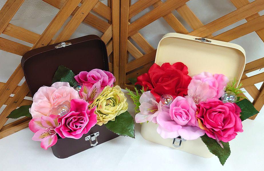 安全 ホワイトボックス ブラウンボックス お好きな方を選んでくださいね ボックスにはいった造花アレンジメント アート ボックスフラワー 造花 花 フラワーギフト 結婚祝い 送迎 歓迎 お祝い インテリア 退職祝い 内祝い アレンジメント 還暦 記念日 送料無料 誕生日