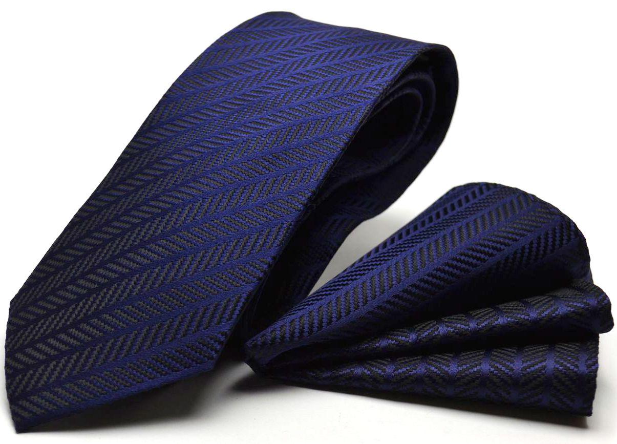 超ロングチーフ付ネクタイ 8 3cm幅ブランド CPN C lon 65 ストライプ HUGO VALENTINON8O0wPZnXk