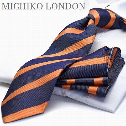 ネクタイ ブランド MICHIKO LONDON MHT-124日本製 シルク