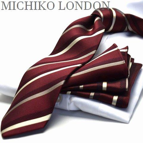 ネクタイ ブランド MICHIKO LONDON MHT-94日本製 シルク