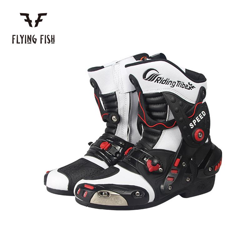 レーシングブーツ バイク用 ツーリング ブランド激安セール会場 防水 防寒 ロードブーツ バイクウェア いつでも送料無料 3色 プロテクション