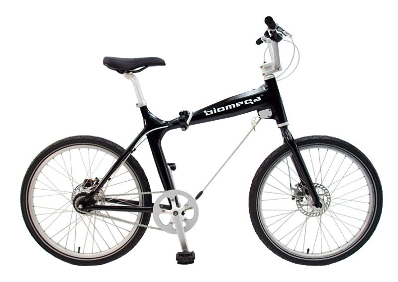 Biomega バイオメガ Boston ボストン シングル クロスバイク 24インチ 折りたたみ自転車 おしゃれ おすすめ 小径車ミニベロ おすすめ ワイヤーロック実装 アルミ ブランド デザイナー 代引不可 完成品 組立済